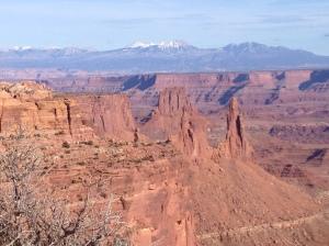 Mesa Arch:  View Beyond