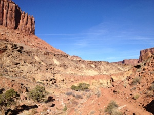 Syncline Loop Trail:  Chasing the Sun
