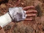 Saggy Tape Glove